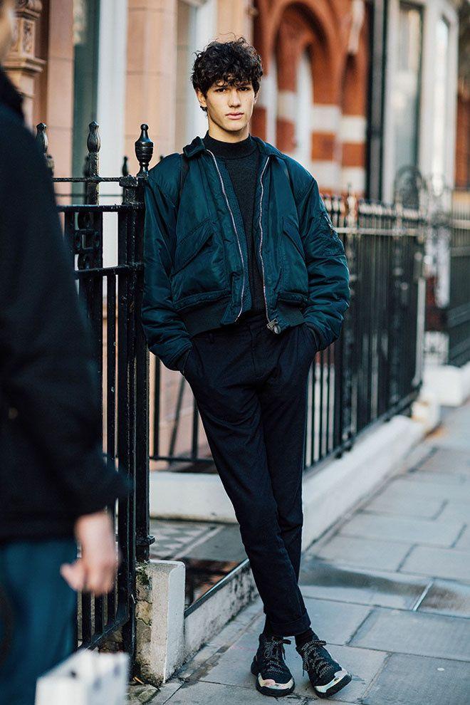 Moderne street looks mannequins fashion week homme automne hiver 2016 2017 QH-44