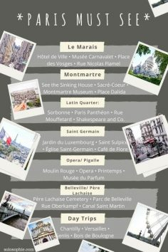 paris must see arrondissements and districts- got to visit attractions and areas in the city of love, France – TDMomentEU