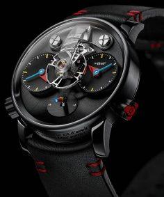 La Cote des Montres : La montre MB&F LM1 Silberstein – Haute horlogerie, hautement ludique – mikeheul