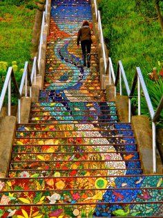 San Francisco. 17 escaliers absolument sublimes à travers le monde ! – celiaschotter