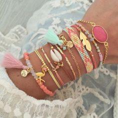 Bracelet femme tendance 2017. Découvrez les bracelets fantaisie pas cher tendance de la saison. La boutique bijoux fantaisie france pas cher. Idée cadeau femme. Bijoux de créateurs tendance été 2017. – cadeaubijou