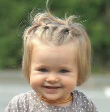photo de coiffure simple bébé fille – sandratoile