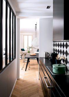 Un appartement doux et harmonieux à Paris – Marie Claire Maison – fillescolline