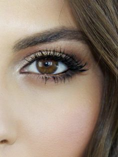 maquillage cat eye tuto maquillage yeux marrons idee maquillage facile – archzinefr