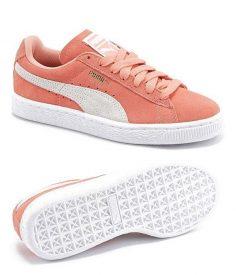 Tendance Chaussures 2017/ 2018 :    Description   Le produit du jour est une paire de baskets femme couleur corail de la marque PUMA. Cette paire de chaussures en daim nous a beaucoup plu avec son belle couleur rose corail. Il s'agit d'une re… – madamedottn8556