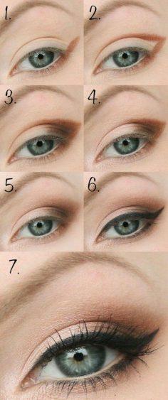 tuto maquilage yeux verts, coseil maquillage yeux verts – delphineleguet