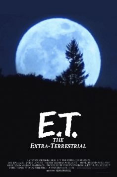 And with animation, you get to watch E.T. go home. | 17 Movie Posters Improved With Animation – orensela