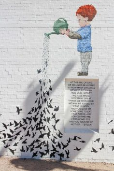 In Roosevelt Row in downtown Phoenix, Arizona lies a bustling art district with street art installations around every corner. – Xupa40