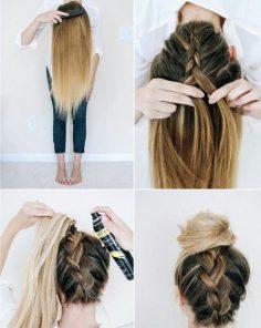 5 Tutos coiffures rapides pour chaque jour de la semaine – Les Éclaireuses – tabatha_rocks