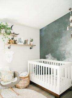 Une chambre bébé bohème pour un petit garçon – 0paline