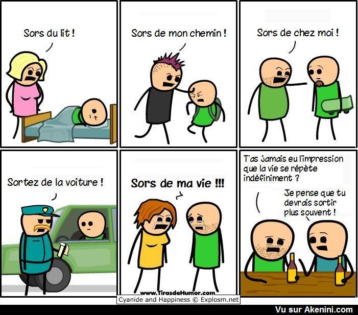 Images drôles Bandes dessinées – Funny comics – laviallelina