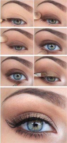 Recettes Naturelles pour la beauté: Apprendre a se maquiller les yeux: maquillage du jour. – besancon0429