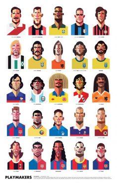 O artista norte-americano Daniel Nyari, criou uma série de imagens que vai agradar e muito os fanáticos pelo futebol. Foram… – benouriaghel