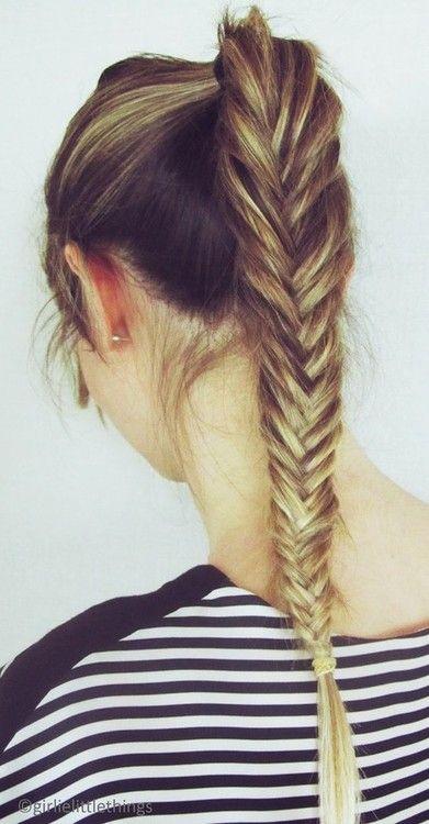 tresse coiffure mariage, fishtail braid  lamarieeencolere…. – marieeencolere