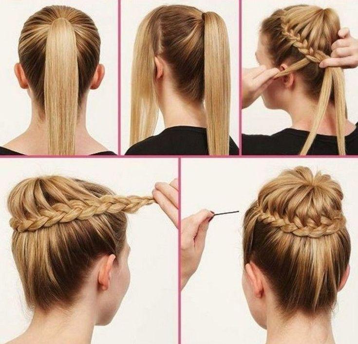 Coiffure Facile Printemps Chignon Tresse Hairstyles Baptistegebbkir Pctr Up