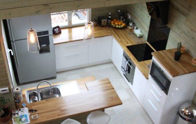 Photo Deco : Cuisine Blanc Chalet Moderne – Pctr UP