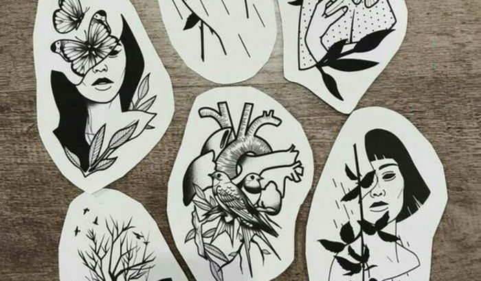 Tatouage Minimaliste Femme Petits Dessins De Tatouage Design Moderne Et Intemporel Cool Idee De Dessin Tatouage Femme Pctr Up